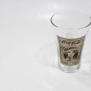Coca Cola Dining - Coca-Cola 16oz Flare Glass Reproduction